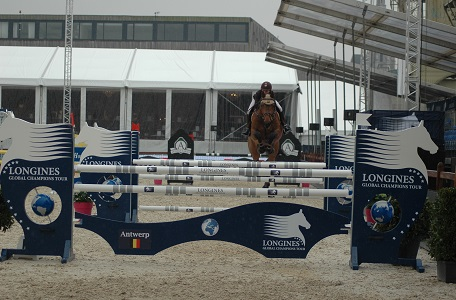 Hollywood Be Good et Lola au Longines Global Champions Tour of Anvers